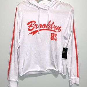 NWT - Brooklyn Graphic Hoodie size L
